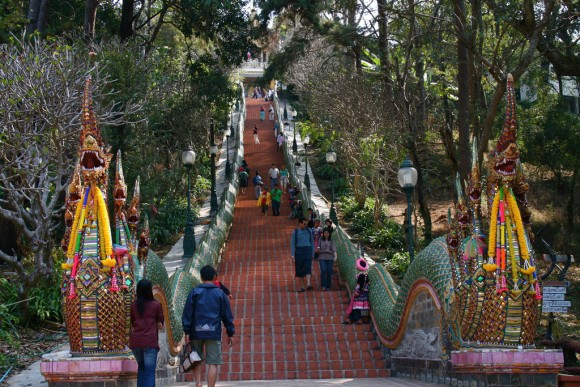Doi Suthep Temple by Akuppa, Creative Commons