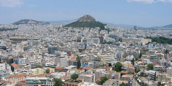 The city of Athens, Greece. Creative Commons by Jay Galvin, 2006