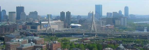 Bridge from Bunker Hill Monument by VidTheKid (creative commons)