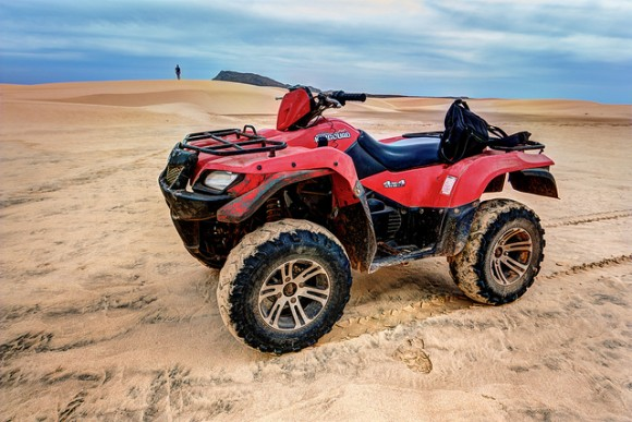 Quad bike by Flickr user Espen Faugstad (creative commons)