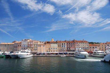 St Tropez - Photo licensed under the Creative Commons, created by Michael Gwyther-Jones