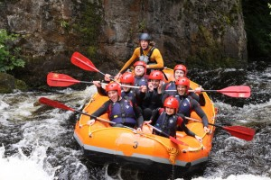 Whitewater rafting by Graeme Walker (creative commons)