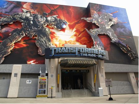 Transformers - The Ride - 3D