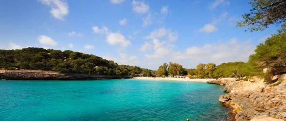 Cala Mondrago on Mallorca's East Coast