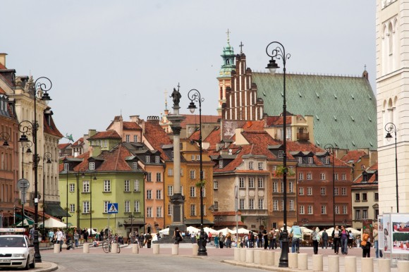 Warsaw's Old Town (Creative Commons)