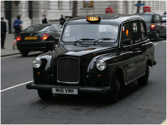 London Cab (Creative Commons)