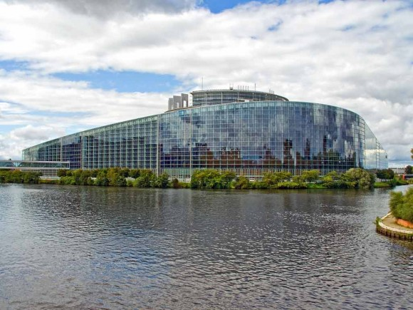 EU Parliament, Strasbourg (creative commons)