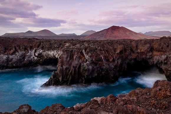 Amazing landscape in Lanzarote (creative commons)