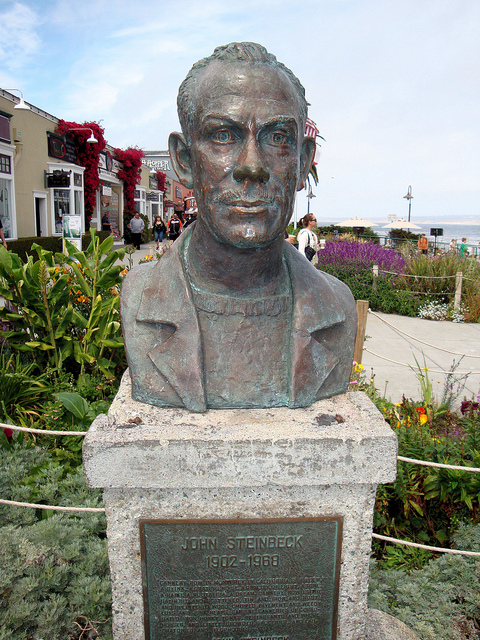 John Steinbeck, Cannery Row by Flickr user Jim G