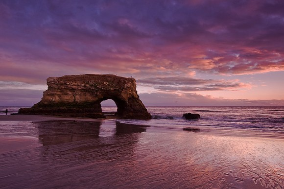 Natural Bridges, Santa Cruz by Flickr user Nagaraju Hanchanahal (Creative Commons)