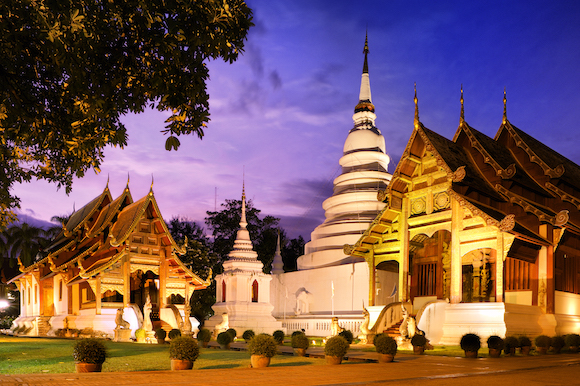Phra Singh temple in Chiang Mai (Creative Commons)