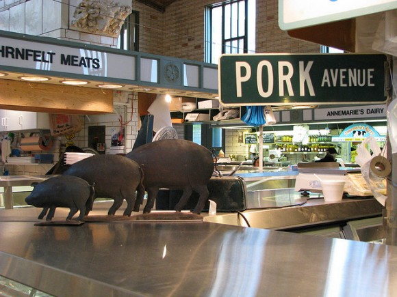 Pork Ave by Flickr user Ron Dauphin (Creative Commons)