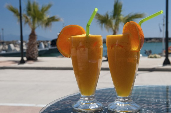 Refreshments in Kardamena, Kos, Greece (Creative Commons)