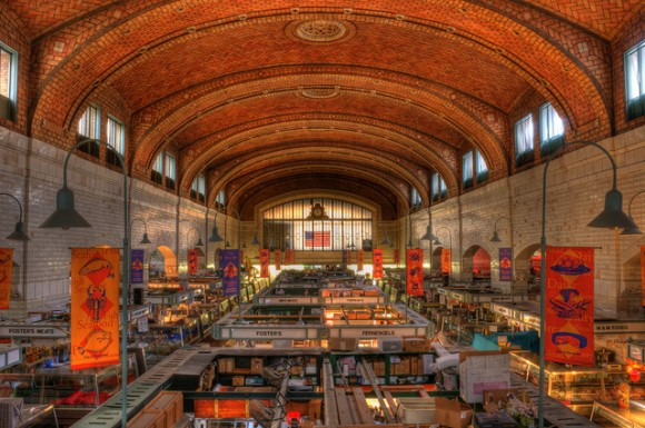 Westside Market, Cleveland, Ohio by Flickr user Matt Shiffler Photography. Com (Creative Commons)