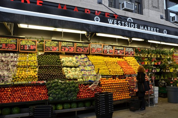 Westside Market bounty by Flickr User Adam Fagen (Creative Commons)
