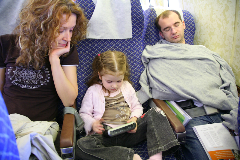 Do you know how to survive a flight with antsy kids?